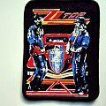 ZZ Top - Patch - ZZ TOP vintage 80's patch z31new very very rare