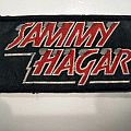 Sammy Hagar - Patch - SAMMY HAGAR  vintage patch h84 new 5 x 9.5 cm
