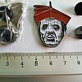 Ghost  metal shaped pin speld badge  n5