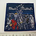 Black Sabbath patch 79 live evil  new patch with silver print