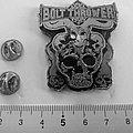 Bolt Thrower metal shaped pin speld badge   n2