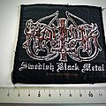 Marduk swedish black metal 2001 patch used465  official