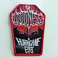 Loudness - Patch - Loudness coffin patch l56 hurricane eyes new 8 x 13 cm