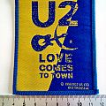 U2 vintage 1990 patch love comes to town new patch 4