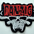 Danzig shaped patch 54 new