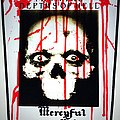 Mercyful Fate  backpatch bp468  patch 30 x 35 x 25