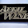 April Wine - Patch - April Wine patch a213 new 5x10 cm