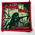 ENGLISH DOGS vintage 80's patch e42 new  8.5x9 embleem