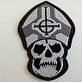 Ghost shaped patch g128 --8.5 x 12.5  cm
