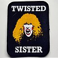 Twisted Sister vintage 80's patch very rare t164