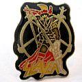 slayer pin new Pin / Badge