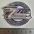 ZZ top shaped patch z45