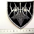 Watain shaped  patch w128