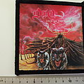Dio lock up the wolves patch 52 -- 10 x 10.5 cm printed