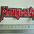 Manowar shaped patch m235 new