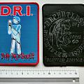D.R.I. dirty rotten imbeciles patch d256  limited 50x new