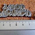 Amon Amarth shaped metal pin speld badge nieuw n1