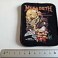 MEGADETH  peace sells... vintage 1987 patch 31 new 8 x10.5