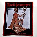 Hellhammer - Patch - HELLHAMMER PATCH h25 new 10 x 11.5 cm