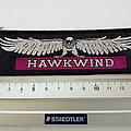 Hawkwind - Patch - Hawkwind vintage 80's stripe patch  h106  4 x14 cm