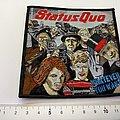 Status Quo - Patch - Status Quo embleem patch s328-- 10.5x10.5 cm