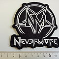 Nevermore shaped patch n190