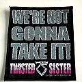 Twisted Sister patch t126 new 9x10 cm