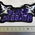 black sabbath shaped patch 45