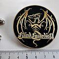 Blind Guardian new shaped metal big pin badge speld 5 .5 cm