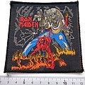 Iron maiden vintage 80's patch 91