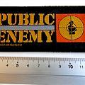 Public Enemy - Patch - Public Enemy 1989 vintage patch p137  collector's item new