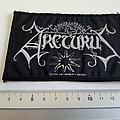 Arcturus - Patch - Arcturus 1997 patch a290   with silver print