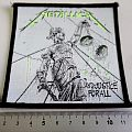 Metallica - Patch - METALLICA  1987 and justice for all patch 22 new  10.x 9.5 cm