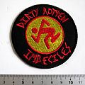 D.R.I. patch d269  dirty rotten imbeciles