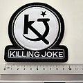 Killing Joke shaped patch k85 --- 10 x 10.5 cm