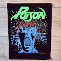 Poison vintage 1988  backpatch bp153 new patch