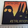 Carnivore - Patch - Carnivore embleem patch c236-- 10 x 10.5 cm