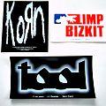 new stickers, Tool, Korn, Limp bizkit   off.merch.