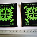 Type O Negative  13 new and official 1993 patch t34