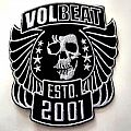 VOLBEAT  big woven and shaped   10.5x12 patch v103