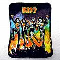KISS rare vintage 80's patch 98  new 8x10.5 cm   round corners