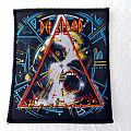 DEF LEPPARD vintage  hysteria 80's  patch  d132 new 8.5 x 10