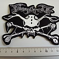 Finntroll shaped patch crossbones  f84