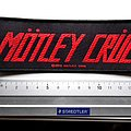 Motley crue patch m316