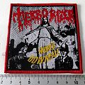 TERRORIZER patch t123 red border  new bd