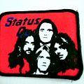 Status Quo - Patch - STATUS QUO vintage 80's patch new  7.5X9.5   cm