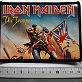 Iron Maiden vintage 80's patch 254  glossy photo print very rare