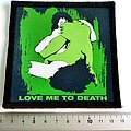 Type O Negative patch t225 love me to death