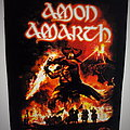 Amon Amarth backpatch bp508 patch