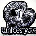 WHITESNAKE   shaped  patch w62 new  9 x 10 cm